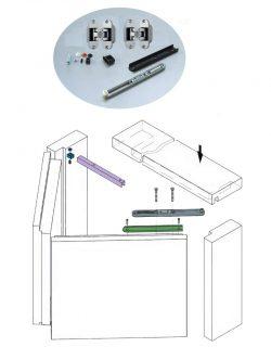 Folding-door-mechanism